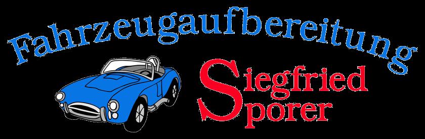 Siegfried Sporer